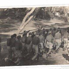 Militaria: CÁDIZ,FALANGES JUVENILES DE FRANCO,CONCENTRACIÓN JEREZ DE LA FRONTERA,FOTO ORIGINAL,LA QUE SE VÉ. Lote 58197696