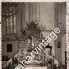 Militaria: GUERRA CIVIL, 1938, PATRONA DEL INSTITUTO DE CARABINEROS, VIRGEN DE COVADONGA, RARISIMA,85X135MM. Lote 58299749