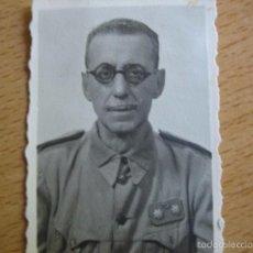 Militaria: FOTOGRAFÍA TENIENTE CORONEL HABILITADO DEL EJÉRCITO ESPAÑOL. CEUTA. Lote 58327979