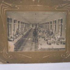 Militaria: FOTO DE UN COMEDOR MILITAR, FECHADA EN 1915.. Lote 58328178