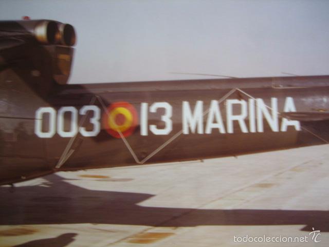Militaria: Fotografía helicóptero Agusta Bell 212 AS. Armada española - Foto 3 - 58350664