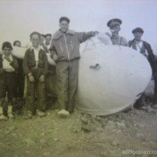 Militaria: FOTOGRAFÍA PLANEADOR DFS KRANICH DEL EJÉRCITO ESPAÑOL. 1948. Lote 58377698