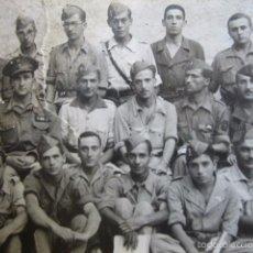 Militaria: FOTOGRAFÍA SOLDADOS DEL EJÉRCITO NACIONAL. ACADEMIA ALFÉRECES PROVISIONALES GRANADA. Lote 58526531