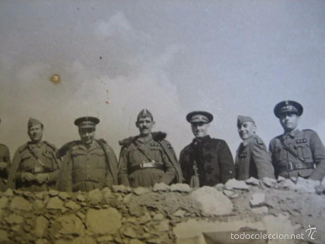 FOTOGRAFÍA CAPITANES HABILITADOS DEL EJÉRCITO NACIONAL. GUERRA CIVIL (Militar - Fotografía Militar - Guerra Civil Española)