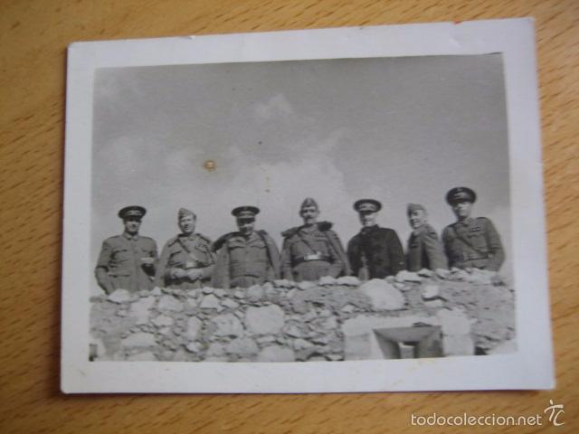 Militaria: Fotografía capitanes habilitados del ejército nacional. Guerra Civil - Foto 2 - 58532250