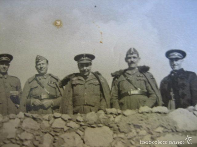 Militaria: Fotografía capitanes habilitados del ejército nacional. Guerra Civil - Foto 3 - 58532250