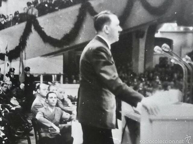 Militaria: Fotografia original Adolf Hitler y Joseph Goebbels - Foto 2 - 58647590