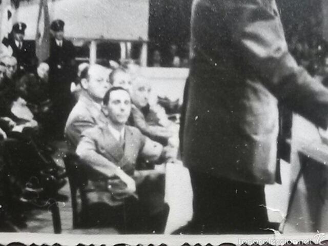Militaria: Fotografia original Adolf Hitler y Joseph Goebbels - Foto 6 - 58647590