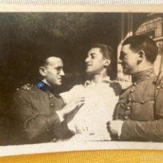 Militaria: SOLDADOS ACADEMIA DE INFANTERIA 1925 PRUDENCIO DE ANDRES CON ALVAREZ DE TOLEDO Y MECOS MADRID 7X4,5. Lote 58647756