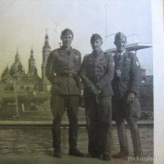 Militaria - Fotografía oficiales alemanes Legión Condor. Zaragoza - 58656001
