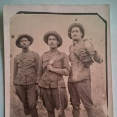 Militaria: GUERRA DE MARRUECOS SOLDADOS DE CABALLERÍA BEN KARRICH 1924. Lote 58667242