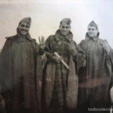 Militaria: FOTOGRAFÍA SOLDADOS ARTILLERÍA DEL EJÉRCITO NACIONAL. GUERRA CIVIL. Lote 58667526