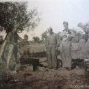 Militaria: FOTOGRAFÍA SOLDADOS ARTILLERÍA DEL EJÉRCITO NACIONAL. 1937. Lote 58667553