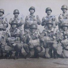 Militaria: FOTOGRAFÍA PARACAIDISTAS. BRIGADA PARACAIDISTAS BRIPAC. Lote 58667962