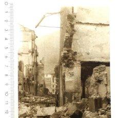 Militaria: FOTO GUERRA CIVIL, CASA DESTRUIDA. Lote 58673855