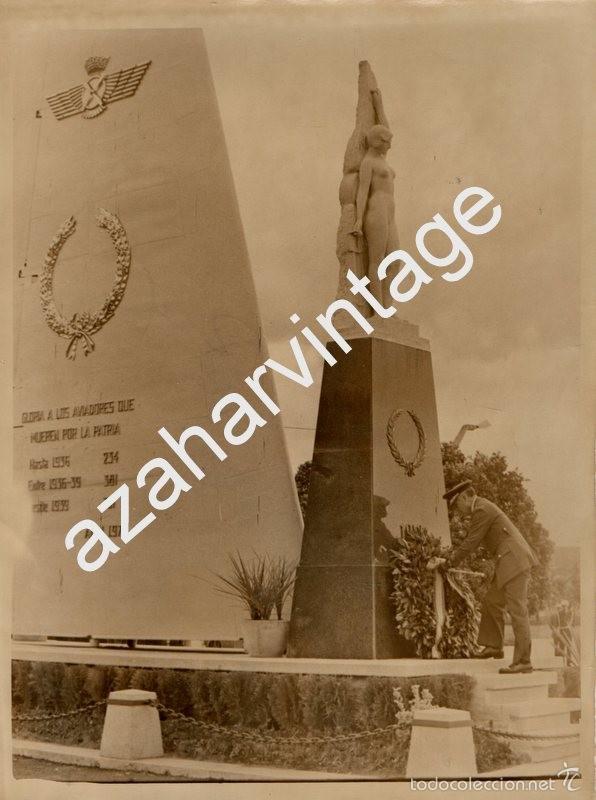 SEVILLA, AVIACION, BASE DE TABLADA, OFRENDA A LOS CAIDOS,150X200MM (Militar - Fotografía Militar - Otros)