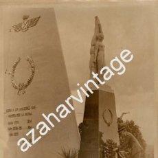 Militaria: SEVILLA, AVIACION, BASE DE TABLADA, OFRENDA A LOS CAIDOS,150X200MM. Lote 58681582