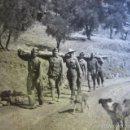 Militaria: FOTOGRAFÍA SOLDADOS ARTILLERÍA DEL EJÉRCITO NACIONAL. OVEJO 1938. Lote 58684930