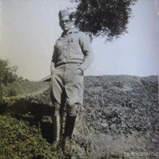 Militaria: FOTOGRAFÍA SARGENTO PROVISIONAL ARTILLERÍA DEL EJÉRCITO NACIONAL. 1-1939. Lote 58685059