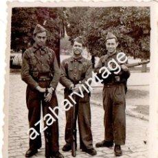 Militaria: SEVILLA, AVIACION, BASE DE TABLADA, ANTIGUA FOTOGRAFIA,80X60MM. Lote 58751531