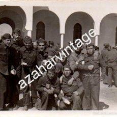 Militaria: SEVILLA, AVIACION, BASE DE TABLADA, ANTIGUA FOTOGRAFIA,80X60MM. Lote 58751573