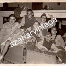 Militaria: SEVILLA, AVIACION, BASE DE TABLADA, ANTIGUA FOTOGRAFIA,80X60MM. Lote 58751626