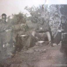 Militaria: FOTOGRAFÍA SOLDADOS ARTILLERÍA DEL EJÉRCITO NACIONAL. 1937. Lote 58761725