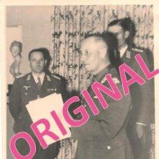 Militaria: MARISCAL ERWIN ROMMEL - FOTO ORIGINAL DE ÉPOCA. Lote 59719659