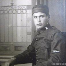 Militaria: FOTOGRAFÍA SOLDADO INGENIEROS AVIACIÓN. ALFONSO XIII. Lote 60256971