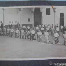Militaria: GUERRA CIVIL : MILICIAS NACIONALES SEVILLA , MILICIANOS DE FALANGE INSTRUCCION . SEVILLA, 1936.. Lote 60259315