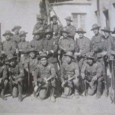 Militaria: FOTOGRAFÍA SOLDADOS AVIACIÓN. 1925. Lote 60279103
