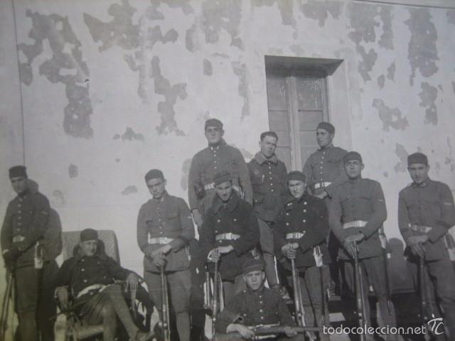 FOTOGRAFÍA SOLDADOS INGENIEROS AVIACIÓN. (Militar - Fotografía Militar - Otros)