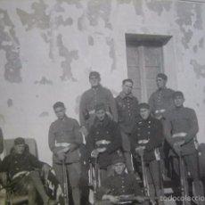 Militaria: FOTOGRAFÍA SOLDADOS INGENIEROS AVIACIÓN.. Lote 60280699