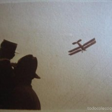 Militaria: FOTOGRAFÍA AVIÓN DE HAVILLAND DH-4 DEL EJÉRCITO ESPAÑOL. NADOR 1921. Lote 60282599