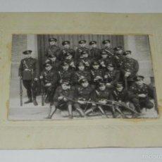 Militaria: FOTOGRAFIA DE COMPAÑIA DE INGENIEROS DE FERROCARRIL, MIDE 24 X 19 CMS.. Lote 60340511