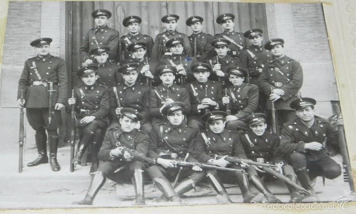 Militaria: FOTOGRAFIA DE COMPAÑIA DE INGENIEROS DE FERROCARRIL, MIDE 24 X 19 CMS. - Foto 2 - 60340511