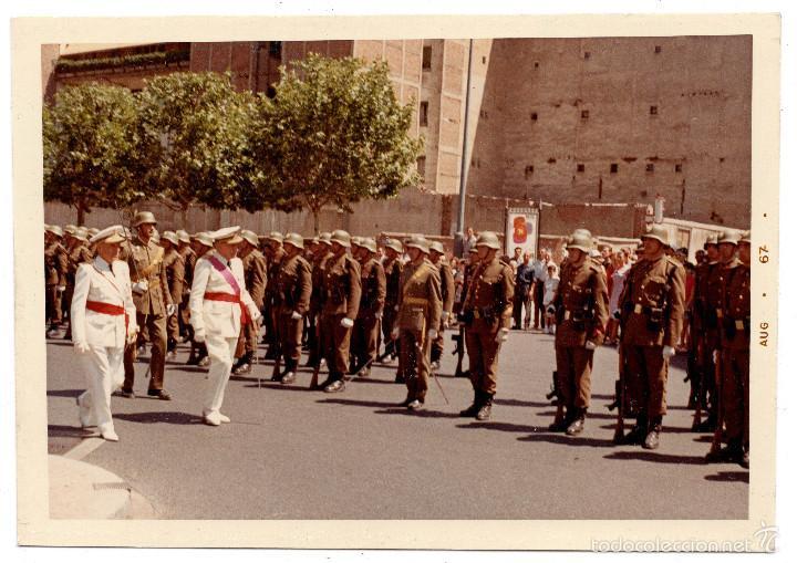 FOTOGRAFÍA NOMBRAMIENTO AGUSTÍN MUÑOZ GRANDES, VICEPRESIDENTE DEL GOBIERNO - 12,5 X 9 CM (Militar - Fotografía Militar - Guerra Civil Española)