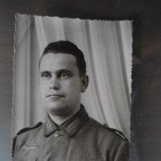 Militaria: ANTIGUA FOTO POSTAL SOLDADO ALEMAN TERCER III REICH - SEGUNDA GUERRA MUNDIAL. Lote 60350111