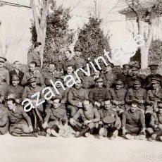 Militaria: ZARAGOZA, 1934, JEFES Y OFICIALES DE CABALLERIA Y OTROS CUERPOS, 140X90MM. Lote 60420303