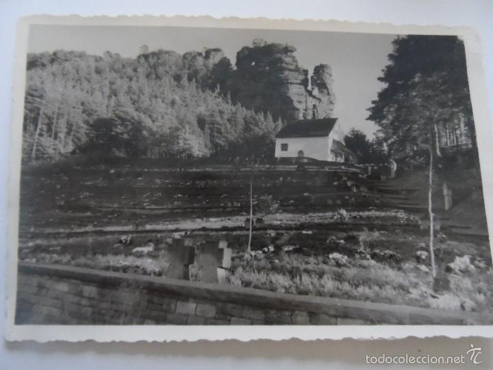 TUMBAS CON CRUCES DE HIERRO JUNTO A CAPILLA. I GUERRA MUNDIAL (Militar - Fotografía Militar - I Guerra Mundial)