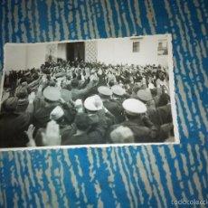 Militaria: TARGETA POSTAL A LA SALIDA DEL FUNERAL DE JOAQUIN CEBOLLINO. Lote 60819647