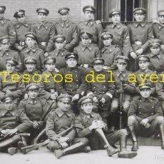 Militaria: FOTOGRAFIA DE MILITARES DEL ARMA DE INGENIEROS, DIFERENTES ESPECIALIDADES, FOTO ALCAIDE, MADRID, MID. Lote 61067447
