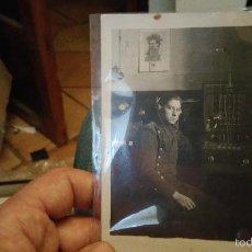 Militaria: POSTAL FOTOGRAFIA DE RADIOTELEGRAFISTA. Lote 61100019