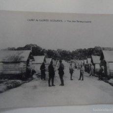 Militaria: POSTCARD CAMP DE SAINTE-SUZANNE-VUE DES BAREQUEMENTS . FRANCIA. I GUERRA MUNDIAL. Lote 61208367