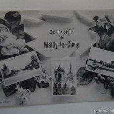 Militaria: POSTCARD SOUVENIR DE MAILLY-LE-CAMP . FRANCIA. I GUERRA MUNDIAL. Lote 61214851