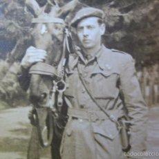 Militaria: FOTOGRAFÍA TENIENTE PROVISIONAL DEL EJÉRCITO NACIONAL.. Lote 61333835
