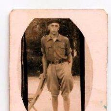 Militaria: ANTIGUA FOTOGRAFIA SOLDADO CORDOBA DEDICADA. 1939. Lote 61627464