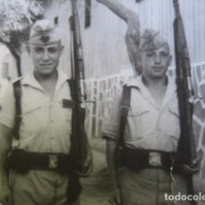 Militaria: FOTOGRAFÍA CABO REGULARES. MELILLA 1962. Lote 61673052