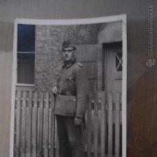 Militaria: ANTIGUA FOTO POSTAL SOLDADO ALEMAN TERCER III REICH - SEGUNDA GUERRA MUNDIAL. Lote 61933552