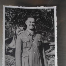 Militaria: ANTIGUA FOTO POSTAL SOLDADO ALEMAN TERCER III REICH - SEGUNDA GUERRA MUNDIAL. Lote 61933768